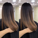 SMOOTH AND SILKY REBONDING